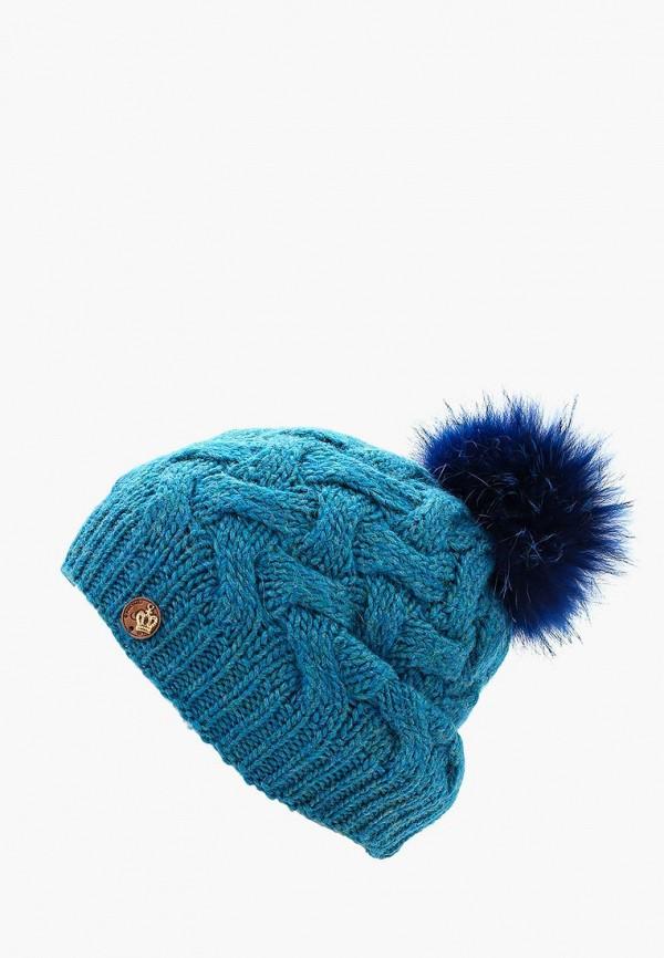 Фото - женскую шапку Noryalli бирюзового цвета