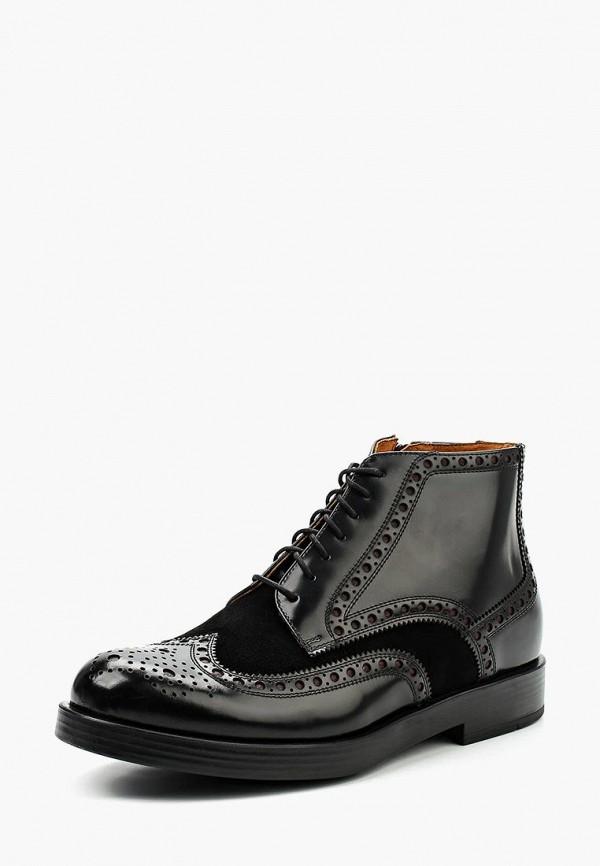 Фото - мужские ботинки и полуботинки Nord черного цвета