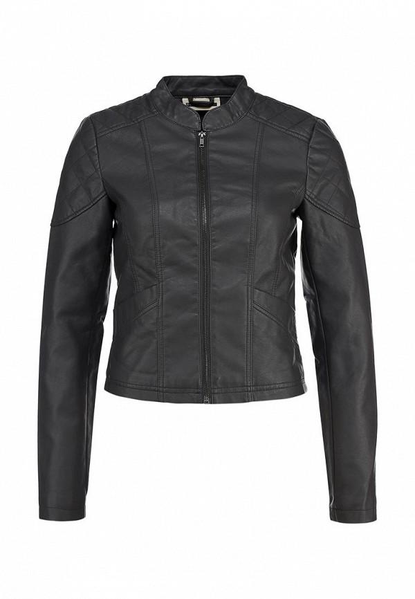 Куртка кожаная Noisy May NO963EWBYS41. Цвет: серый