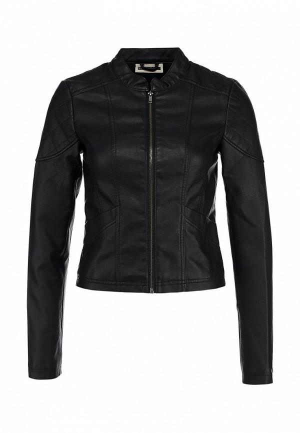 Куртка кожаная Noisy May NO963EWBYS42. Цвет: черный