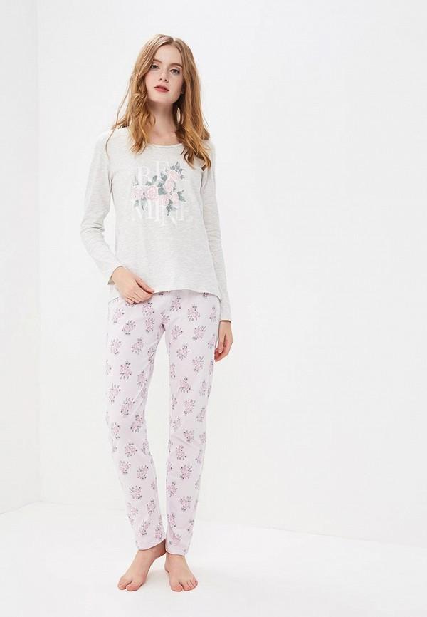 Пижама NYMOS NYMOS NY002EWAVJS7 пижама turen цвет розовый