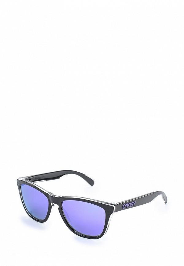 Очки солнцезащитные Oakley Oakley OA001DMZAA31 шлепанцы женские oakley agenda pool blue