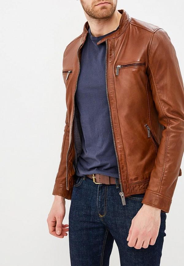 Куртка  коричневый цвета