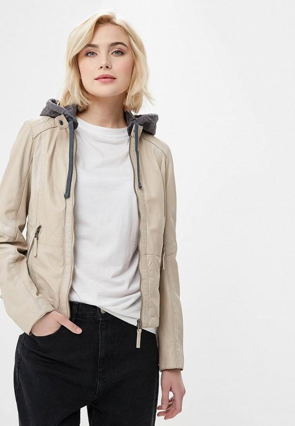 Куртка кожаная Oakwood Oakwood OA002EWAFZA6