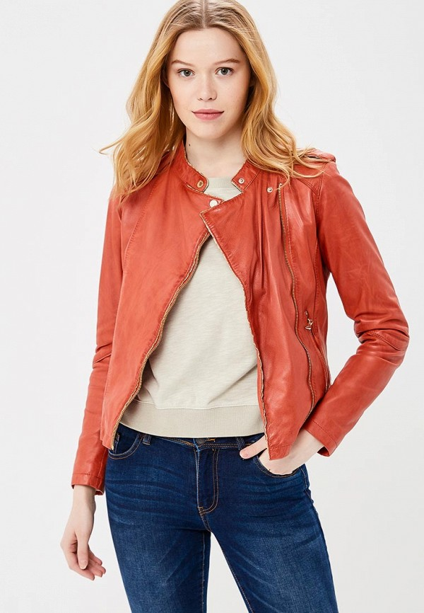 Куртка кожаная Oakwood Oakwood OA002EWAFZB4