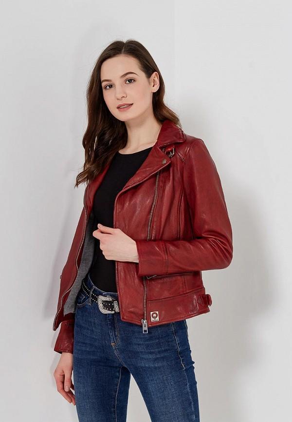 купить Куртка кожаная Oakwood Oakwood OA002EWAFZB5 дешево