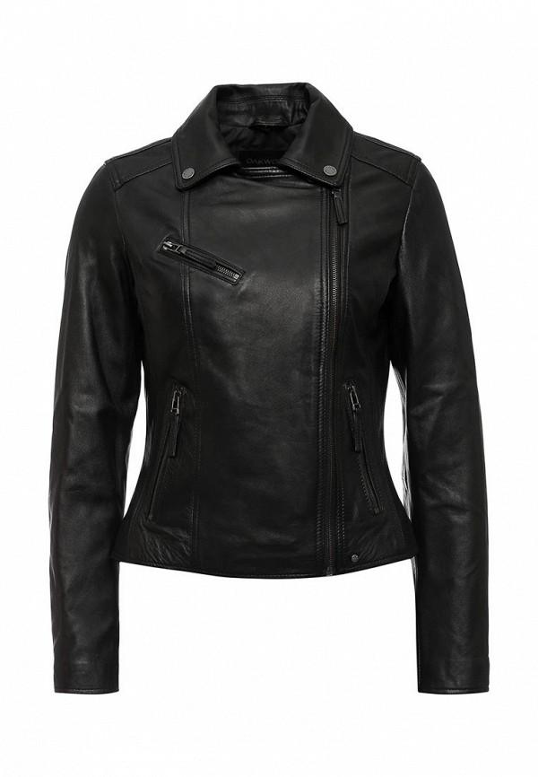 купить Куртка кожаная Oakwood Oakwood OA002EWJJJ83 дешево
