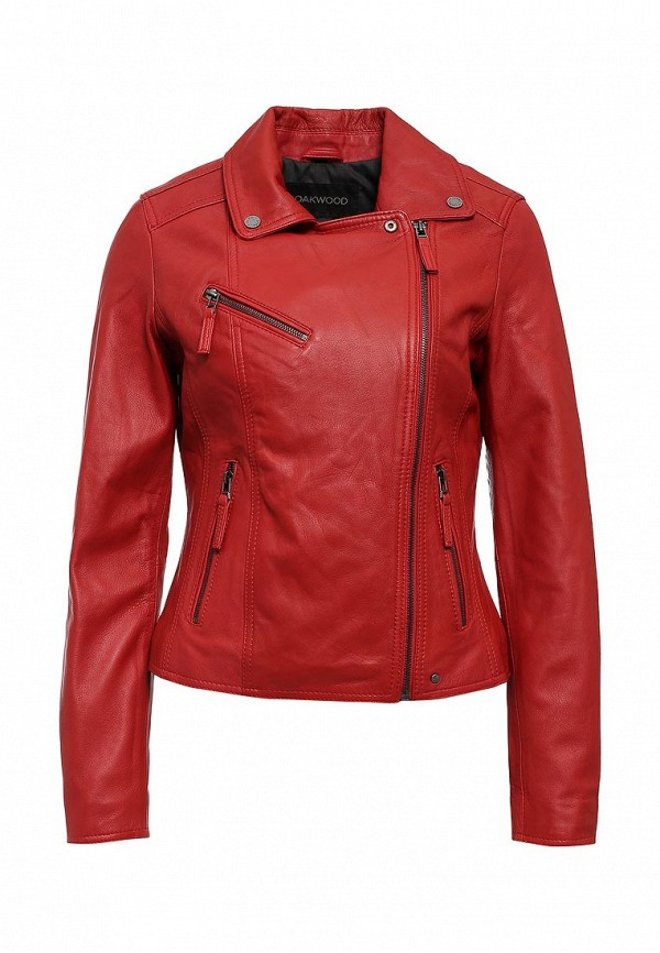 купить Куртка кожаная Oakwood Oakwood OA002EWJJJ84 дешево