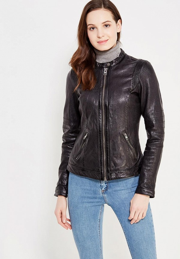 купить Куртка кожаная Oakwood Oakwood OA002EWWFF73 дешево
