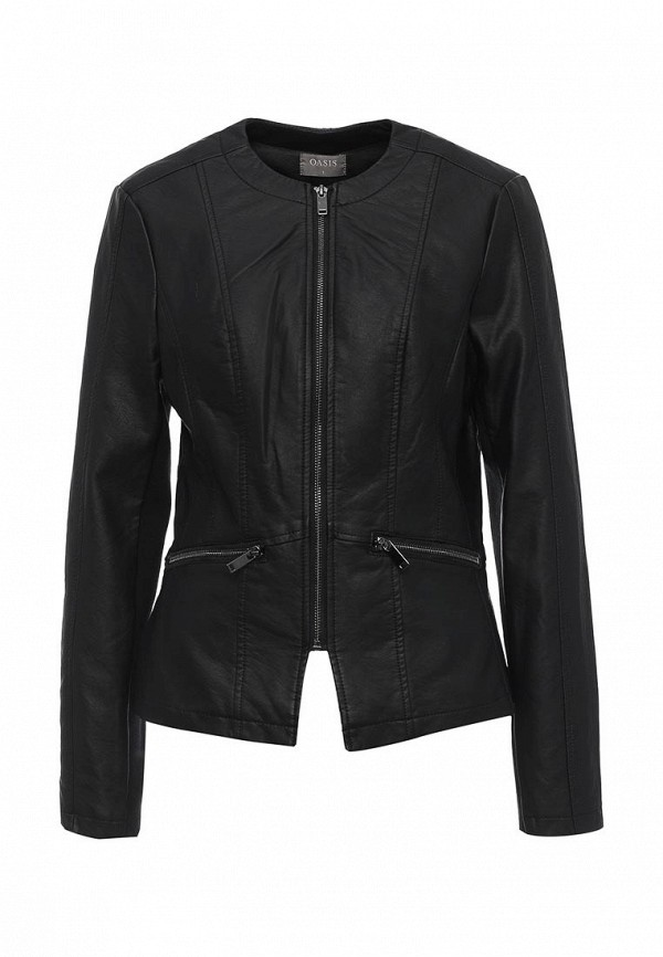 цена  Куртка кожаная Oasis Oasis OA004EWPSX43  онлайн в 2017 году