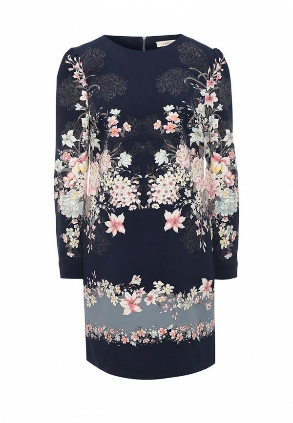 Платье Oasis Oasis OA004EWRVM30  oasis в чехле синий 429502