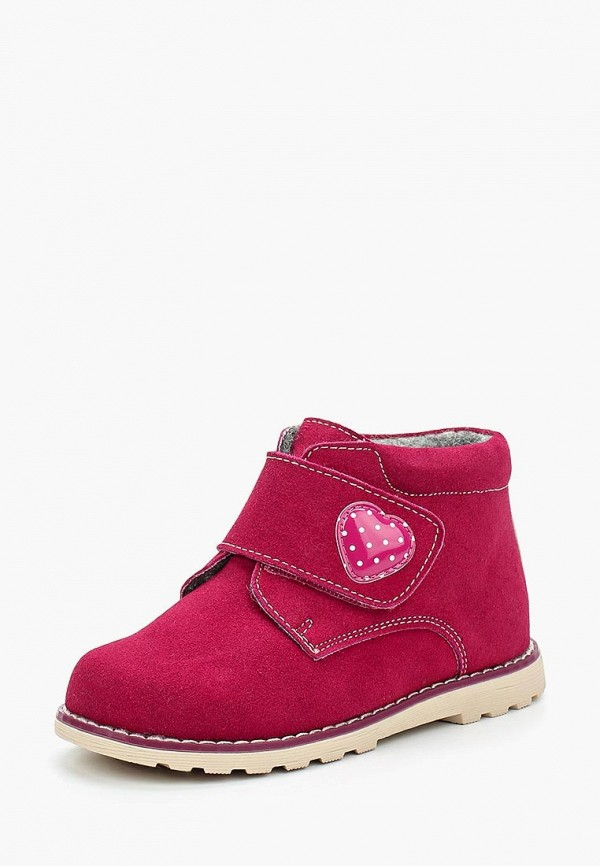 Фото - Ботинки Obba розового цвета