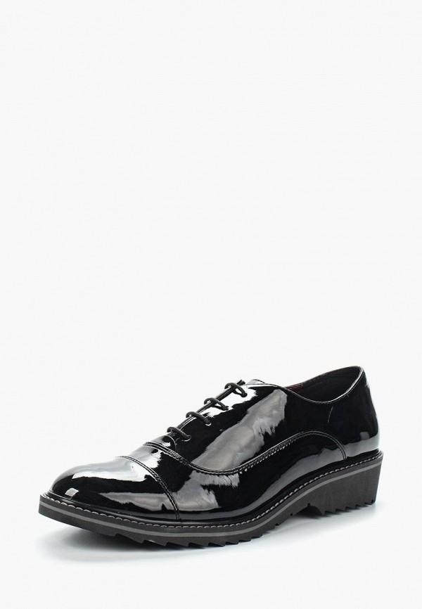 Фото - женские ботинки и полуботинки Obsel черного цвета