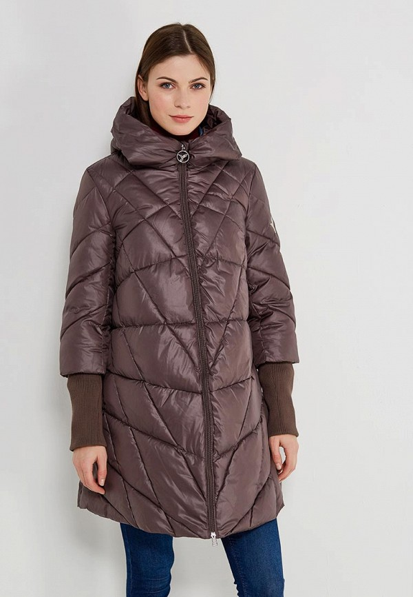 Куртка утепленная Odri Mio Odri Mio OD006EWZHS28 плащ odri mio odri mio od006ewrrf68