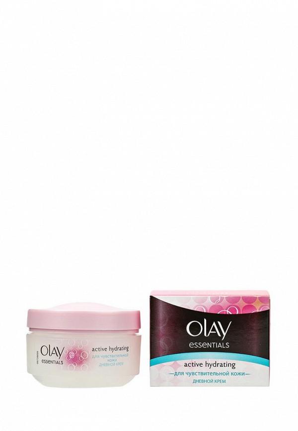 Крем Olay Essentials Active Hydrating дневной увлажняющий для чувствительной кожи, 50 мл