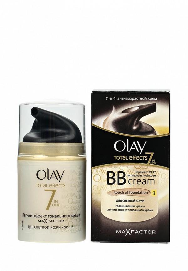 Крем Olay Total Effects 7 в 1 дневной увлажняющий с SPF 15 для светлой кожи, 50 мл