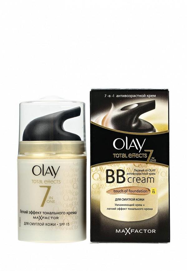 Крем Olay Total Effects 7 в 1 дневной увлажняющий с SPF 15 для смуглой кожи, 50 мл
