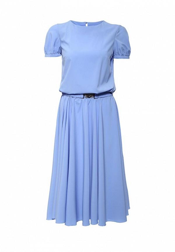 Платье-миди Olivegrey Pl000217L(rio)