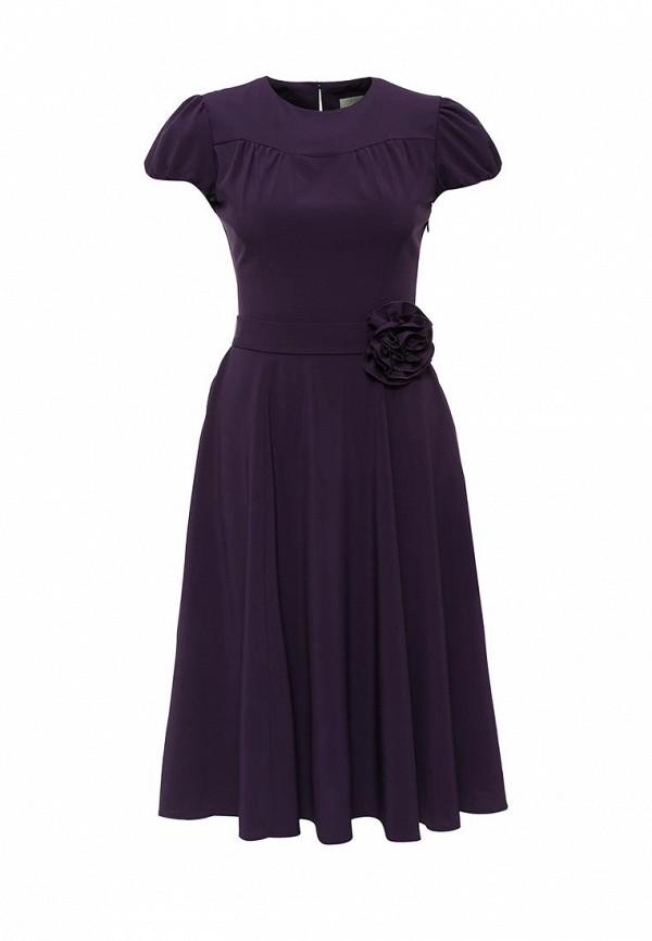 Платье-миди Olivegrey Pl000222L(arilis)