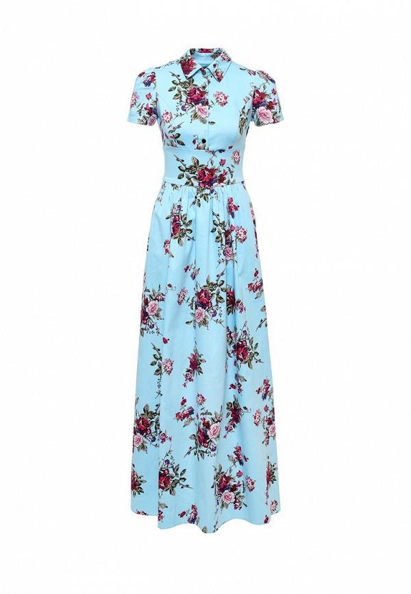 Платье-макси Olivegrey Pl000260L(galaxy)