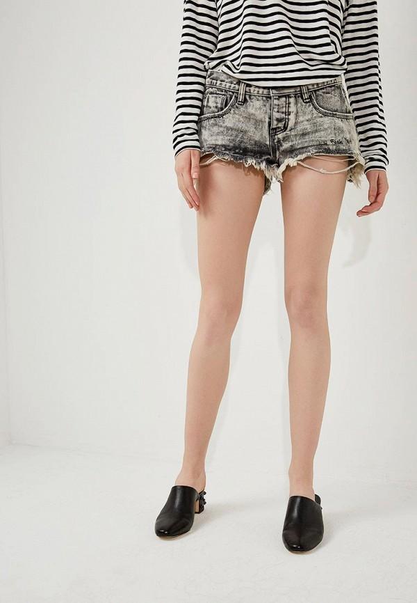 купить Шорты джинсовые One Teaspoon One Teaspoon ON016EWYLR40 дешево