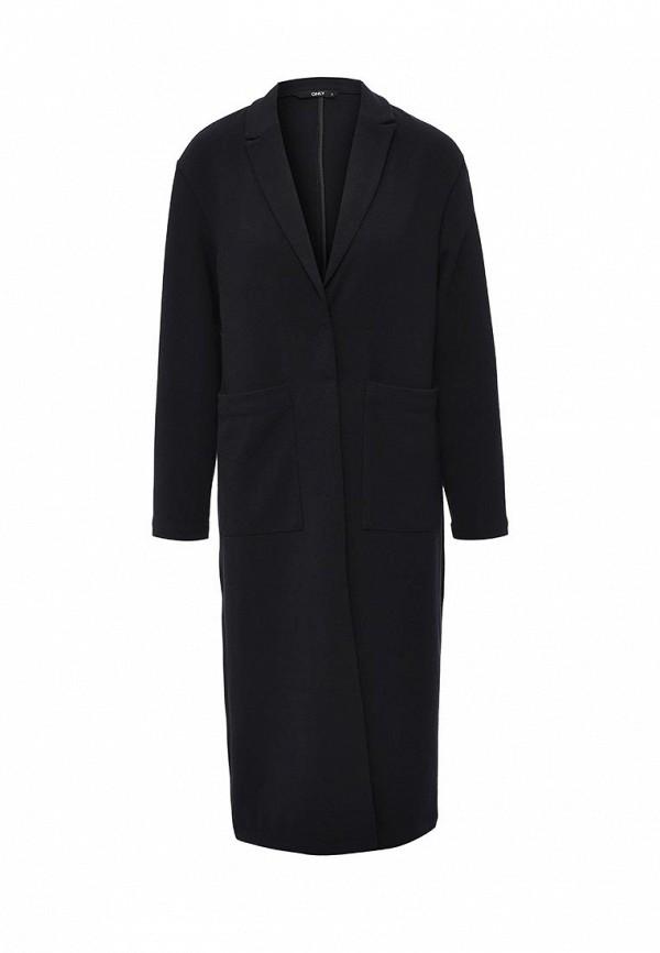 Фото - женское пальто или плащ Only синего цвета