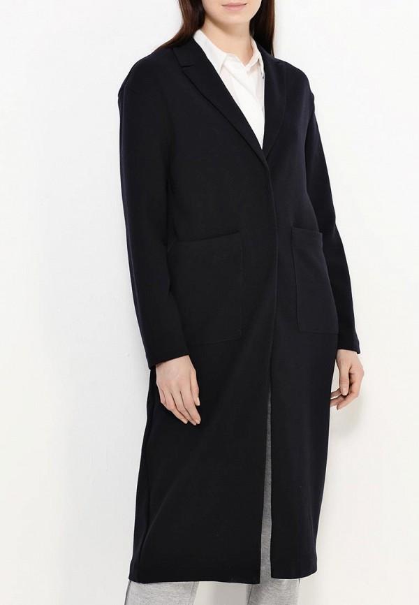 Фото 3 - женское пальто или плащ Only синего цвета