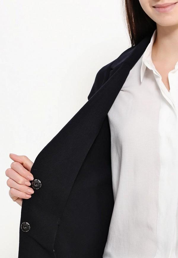 Фото 5 - женское пальто или плащ Only синего цвета