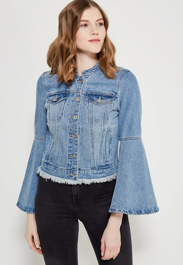 Купить Куртка джинсовая Only, ON380EWZKW85, голубой, Весна-лето 2018
