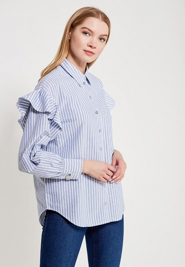 Купить Блуза Only, ON380EWZKW91, голубой, Весна-лето 2018