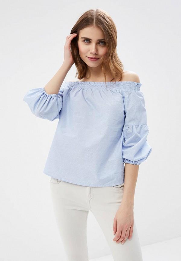 Купить Блуза Only, ON380EWZKX20, голубой, Весна-лето 2018
