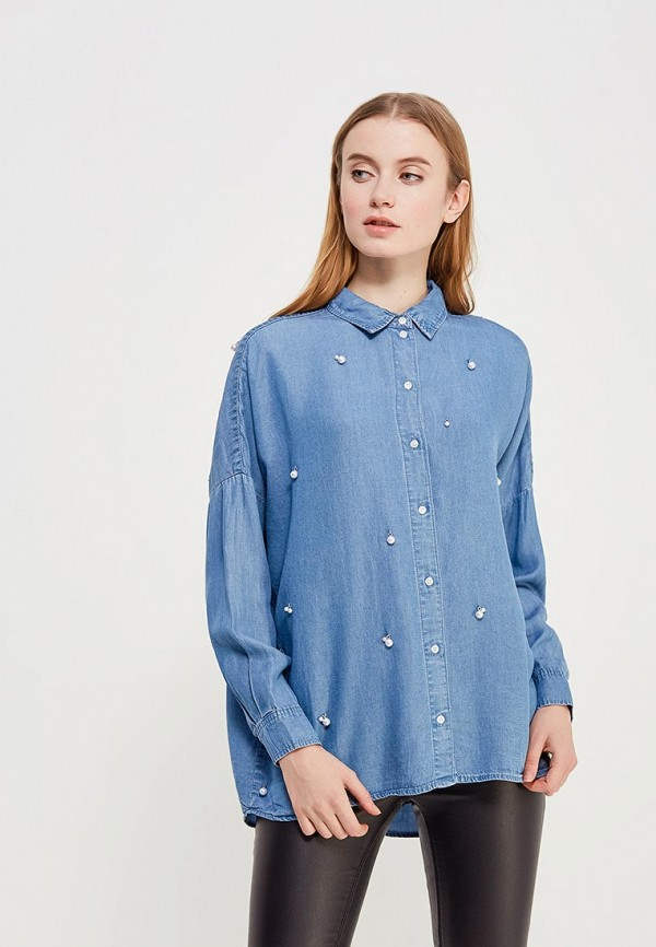 Купить Блуза Only, ON380EWZKX28, голубой, Весна-лето 2018