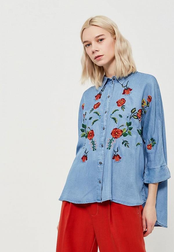 Купить Блуза Only, ON380EWZKX30, голубой, Весна-лето 2018