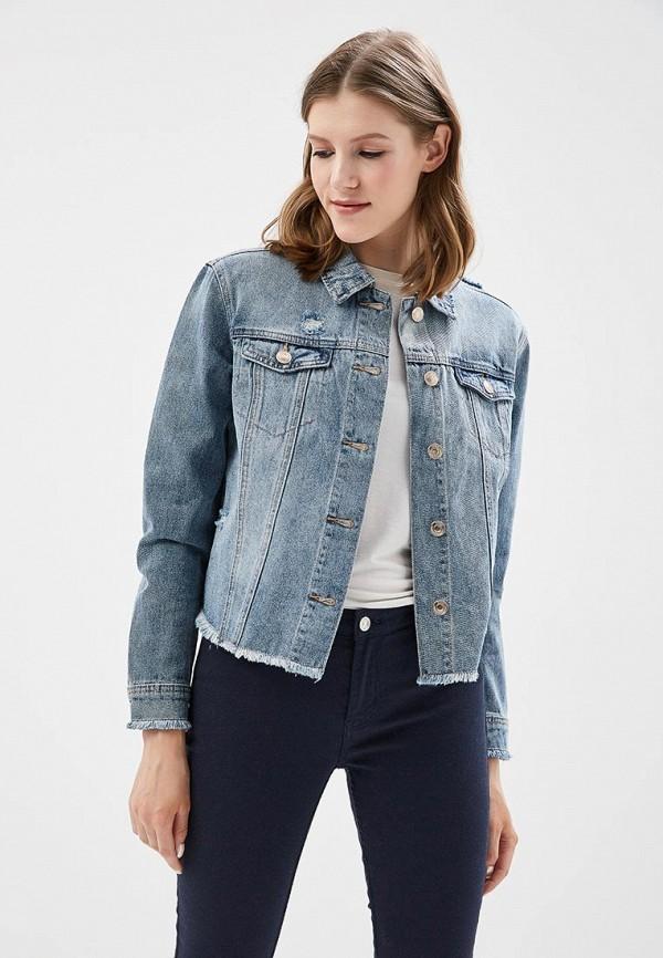 Купить Куртка джинсовая Only, ON380EWZKX32, голубой, Весна-лето 2018