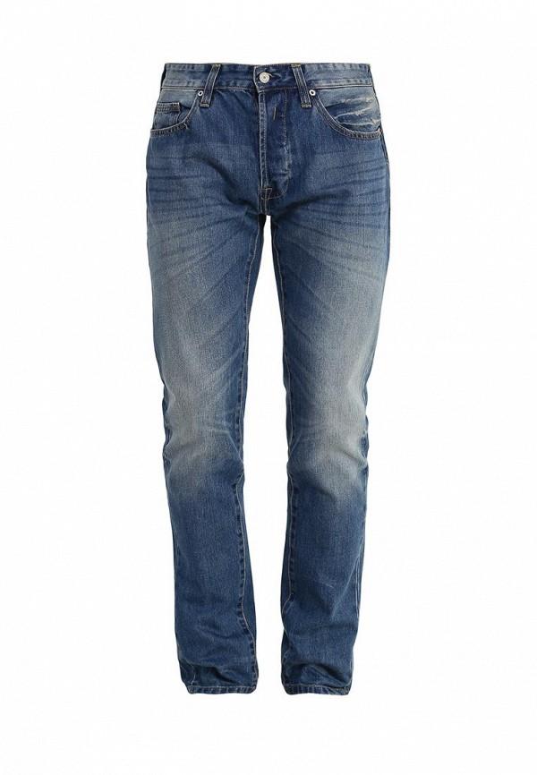 Купить мужские джинсы oodji синего цвета