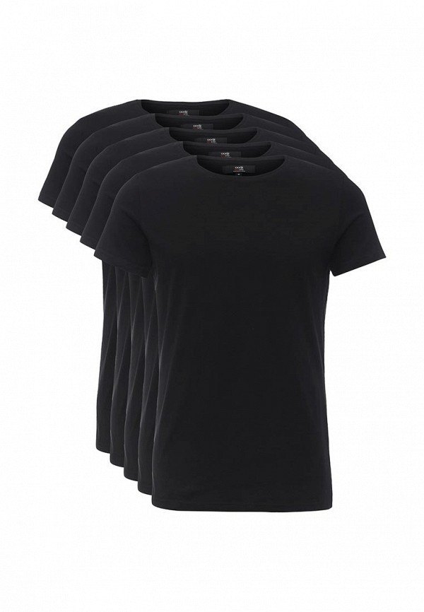 Комплект футболок 5 шт. oodji oodji OO001EMOCV39