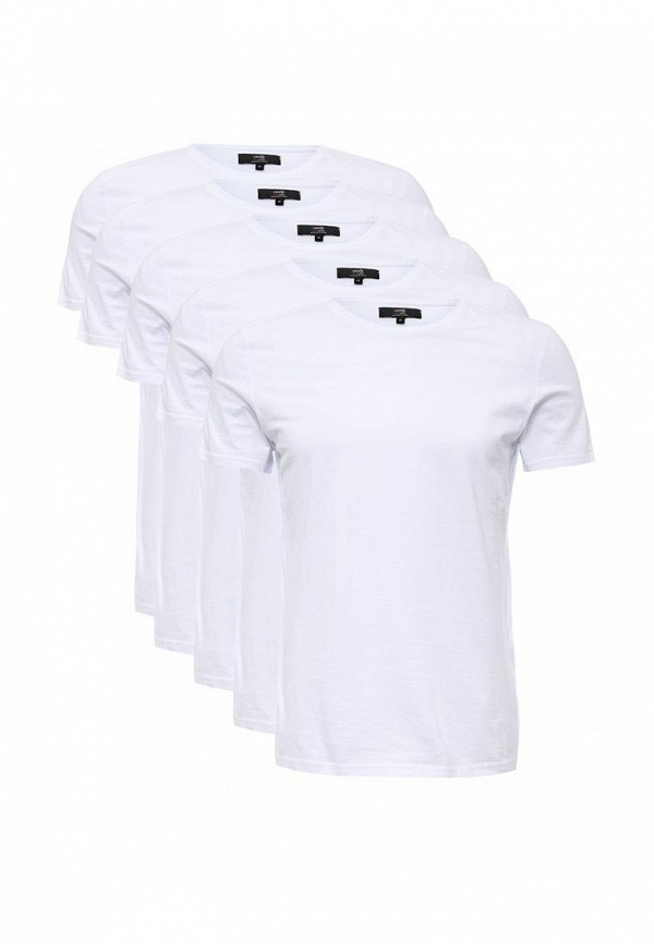 Комплект футболок 5 шт. oodji oodji OO001EMOUC29