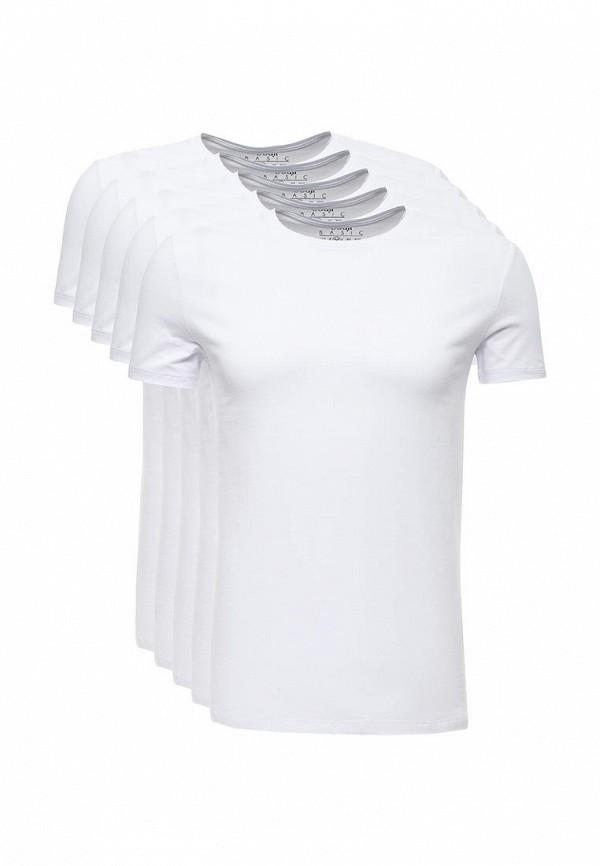 Фото Комплект футболок 5 шт. oodji. Купить с доставкой