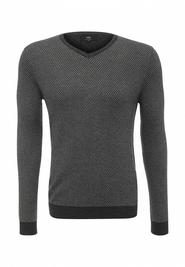 Пуловер oodji. Цвет: серый