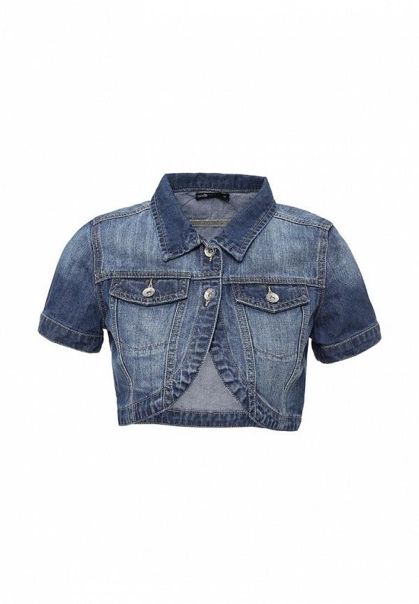 Купить Куртку джинсовая oodji синего цвета