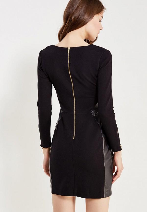 Фото 3 - женское платье oodji черного цвета