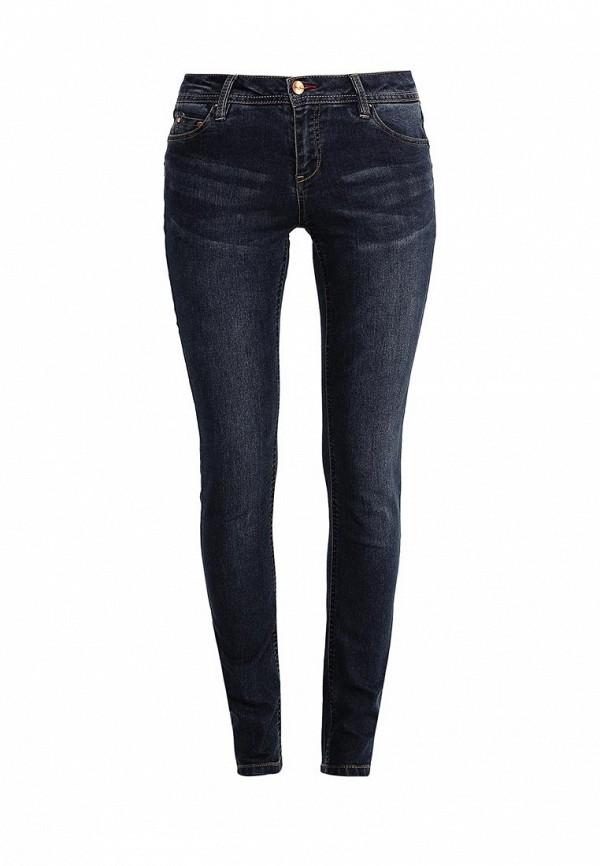 Купить женские джинсы oodji синего цвета