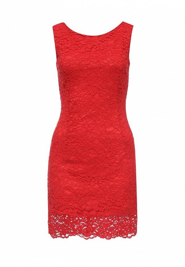 Купить женское платье oodji красного цвета
