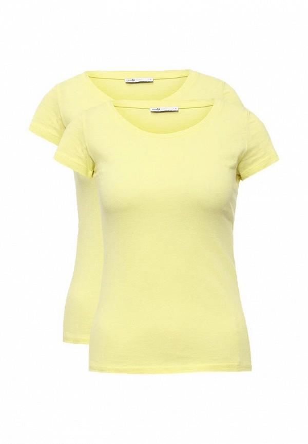 Фото Комплект футболок 2 шт. oodji. Купить с доставкой