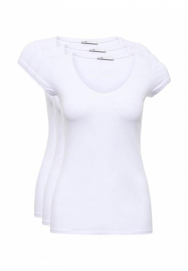 Комплект футболок 3 шт. oodji oodji OO001EWNWB03