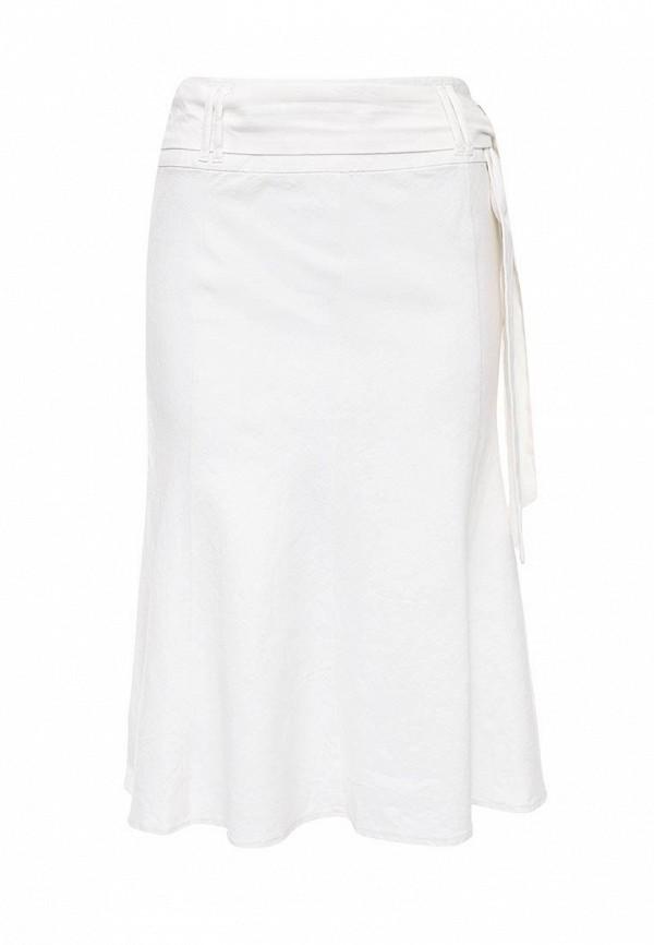 Купить женскую юбку oodji белого цвета