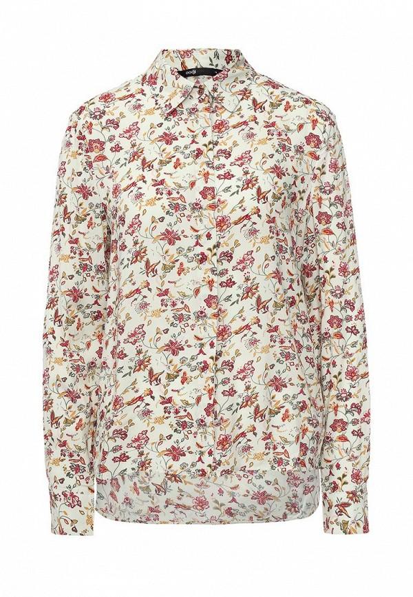Блуза oodji oodji OO001EWQSF88 блуза oodji oodji oo001ewnwa77