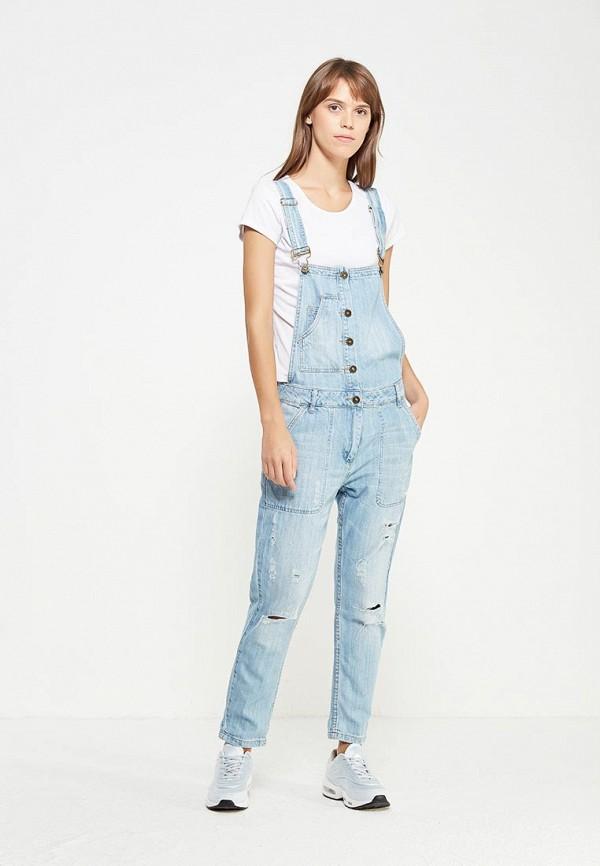 Комбинезон джинсовый oodji oodji OO001EWQSG02