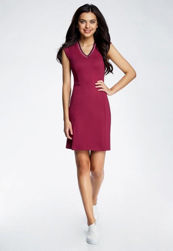 Платье oodji oodji OO001EWQWT05 набор для объемного 3д рисования feizerg fsp 001 фиолетовый