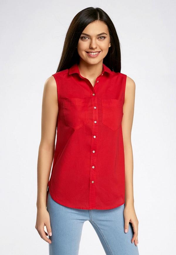 Красные Женские Блузки